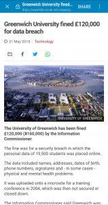 ico greenwich university