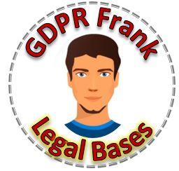 gdpr frank, legal bases
